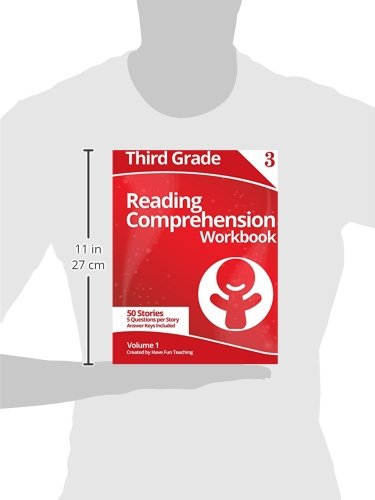 Third Grade Reading Comprehension Workbook: Volume 1: Have Fun ...
