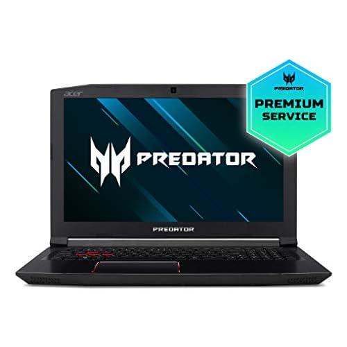 Acer Predator Helios 300 PH315 51 50Y7 Ordenador portátil de 15 6 Full HD Intel Core i5 8300H 8 GB RAM 1TB HDD 128GB SSD Nvidia GeForce GTX1060 Linux Negro Teclado QWERTY Español