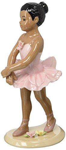 Cosmos African American Ceramic Ballerina