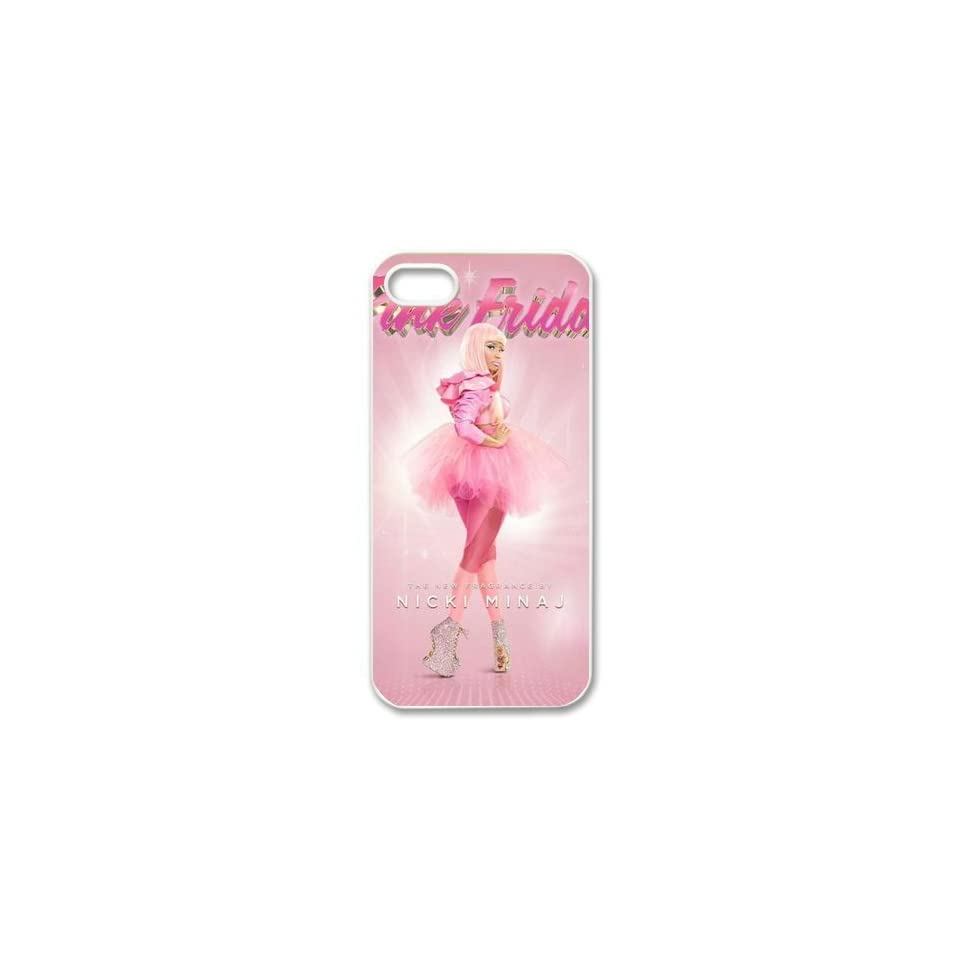 CoverMonster Nicki Minaj Hard Plastic Case Back Cover for Iphone 5 5S