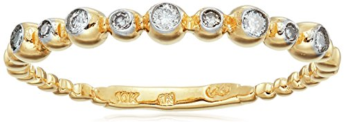 10k-Yellow-Gold-White-Diamond-Ring-110cttw-H-I-Color-I3-Clarity-Size-5