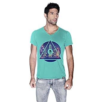 Creo Doha T-Shirt For Men - M, Green