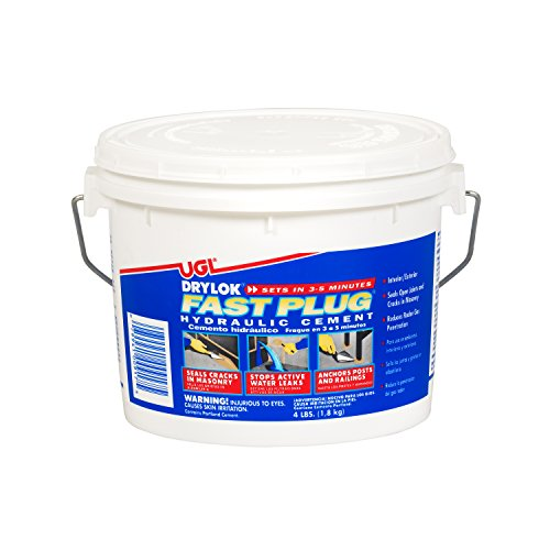 Patching Cement - DRYLOK 00917 Cement Hydraulic WTRPRF, 4-Pound, Gray