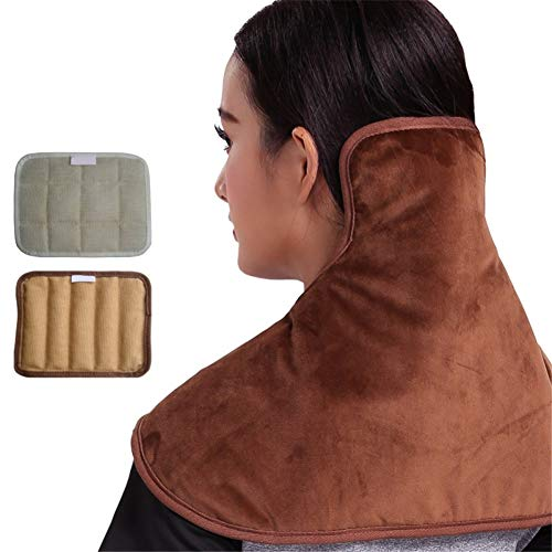 Awesome Shoulder Cold Therapy System Ljings Hot & Cold Neck & Shoulder Plush Wrap Pad, 5 Temperature Settings,for Neck and Cervical Pain,Heat Therapy Neck Brace,Keep Warm 2019