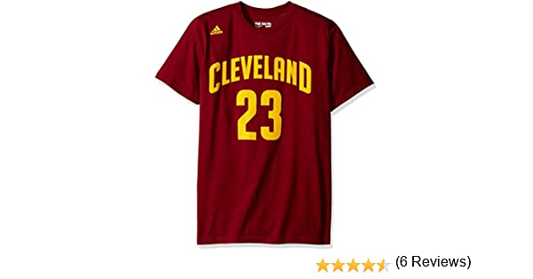 Amazon.com : Cleveland Cavaliers LeBron James NBA Name & Number T-Shirt : Sports & Outdoors