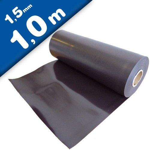 Foglio magnetico naturale 1,5mm x 0,62m x 1m - applicabile a tutti superfici metalliche, flessibile Magnosphere