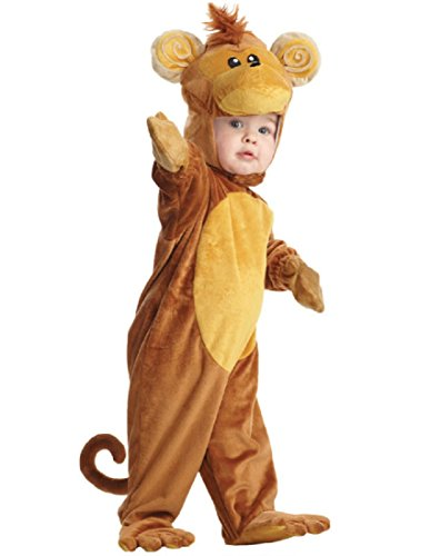 [Monkey Infant Costume,Brown/Tan, Medium (18-24 Months)] (Jungle Monkey Costumes)