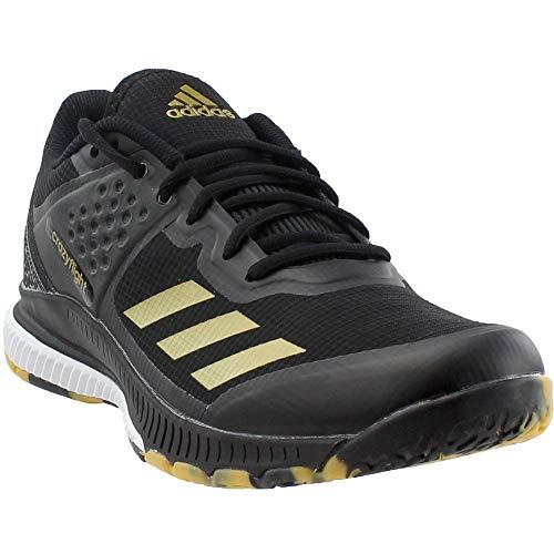 detailed pictures e418e 2eec5 Galleon - Adidas Mens Crazyflight Bounce Volleyball Shoe, BlackMetallic  GoldWhite, 7 Medium US