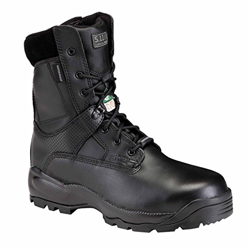 5.11 Men's A.T.A.C. SHIELD 8″ Side Zip CSA/ASTM Tactical Boot with Safety Toe