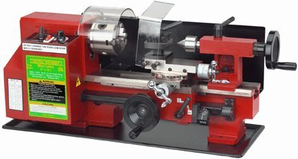 5. Central Machinery 7 x 10 Precision Mini Lathe by Central Machinery