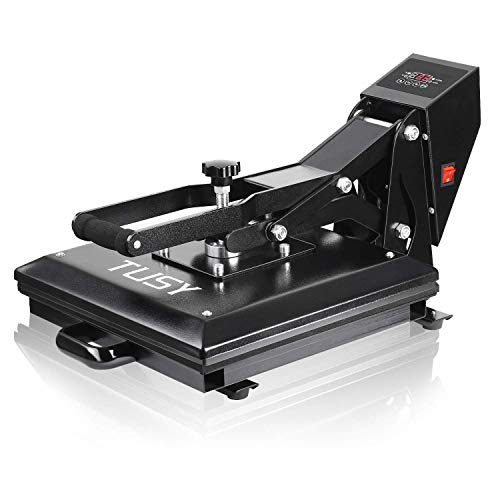 TUSY Heat Press Machine 15x15 inch Digital Industrial Quality Printing Press Heat Transfer Machine for T-Shirt