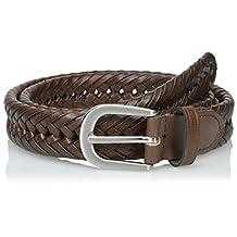 Wrangler mens Wrangler Authentics Men's Brown Braided Belt