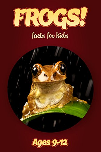 Frog Facts For Kids Ages 9-12: Amazing Animal Facts With Large Size Pictures: Clouducated Red Series Nonfiction For (Poison Tree Frog)