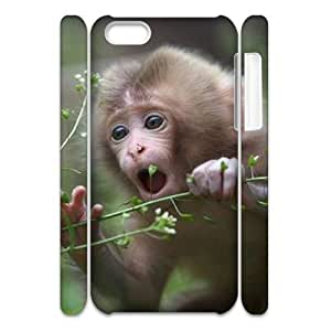 linJUN FENGMonkey 3D-Printed ZLB822367 DIY 3D Phone Case for ipod touch 5