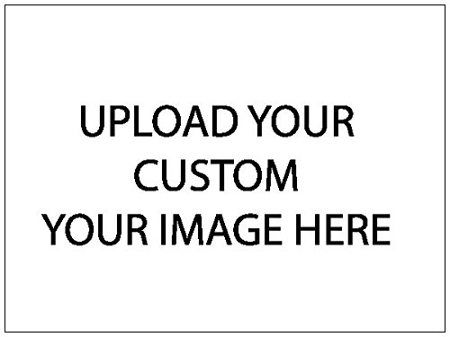 Custom Upload Your Own Image Yard Sign, Business, For Sale, For Rent, Printed 1 Sided - 18 x 24, Wire H Stake Included (Custom Yard Sign)