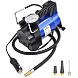Tire Inflator Tire Air Compressor Pump -CERBIOR 12V DC, Premium Portable Auto Tire Inflator by 150 PSI 180W(BLUE)