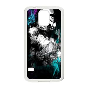 Black mysterious man Cell Phone Case for Samsung Galaxy S5