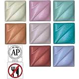 AMACO Non-Toxic Underglaze Decorating Crayon Set - a, Assorted Color, Set of 8