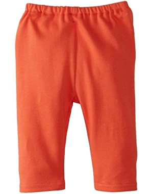 Unisex Baby Primary Solid Pant, Mandarin, 6 Months