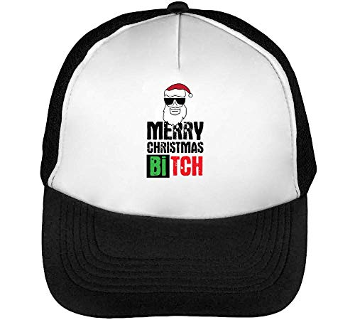 Snapback Negro Merry Gorras Christmas Blanco Beisbol Swag B Hombre Santa Tch 6x0zSrq6