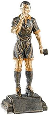 Trofeos de Arbitro PACK de 2 de 24cm GRABADO Trofeos PERSONALIZADOS Trofeos Deportivos Fútbol Baloncesto Voleibol Rugby Balonmano: Amazon.es: Deportes y aire libre