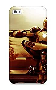 Hot New Iron Man Case Cover For ipod touch4 With Perfect Design