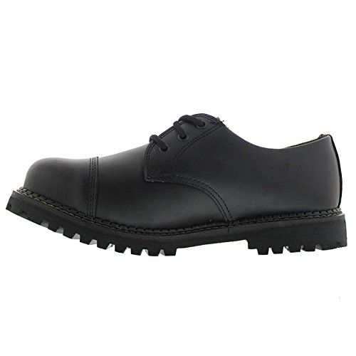 Womens Black Grinder Leather Regent CS Shoes TWySyFc