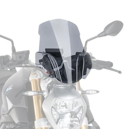 15-18 BMW R1200R: Puig Naked Generation Sport Windscreen (SMOKE)
