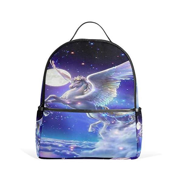 Unicorno zaino per donne adolescenti ragazze borsa moda borsa libreria bambini viaggio università casual zaino ragazzo… 1 spesavip