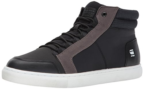 Raw Cargo - G-Star Raw Men's Zlov Cargo Mid Sneaker, Black, 40 Regular EU (7 US)
