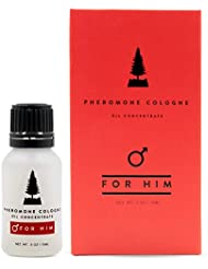 RawChemistry Pheromones For Men Pheromone Cologne Oil [Attract Women] - Bold, Extra Strength