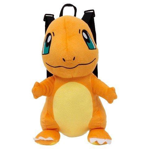 Pokemon Kids' Charmander Plush Backpack - Orange/Yellow TRG