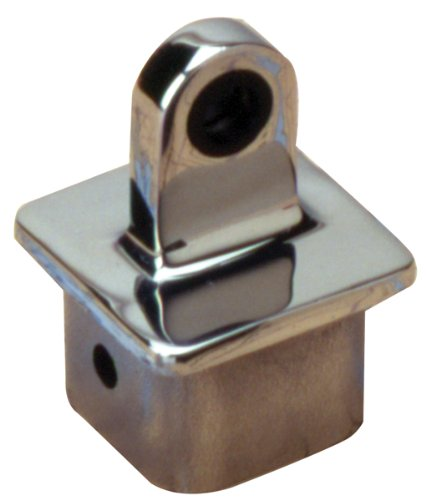 "Sea Dog 270191-1 Square Internal Eye End for 1.25"" OD Tube"