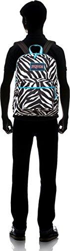 Jansport Overexposed Miss Zebra/Mammoth Blue T08W0CX by JanSport (Image #4)