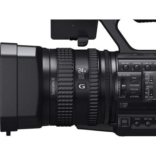 Sony HXR-NX100 Full HD NXCAM Camcorder Bundle with Sony 128GB SDXC Memory Card Replacement Battery More
