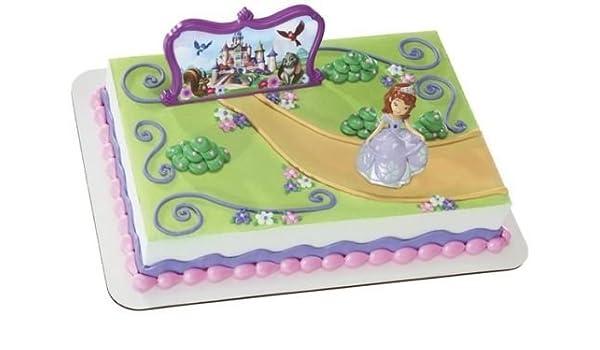 Stupendous Amazon Com Cakedrake Sofia The First Sophia Castle Princess Birthday Cards Printable Opercafe Filternl