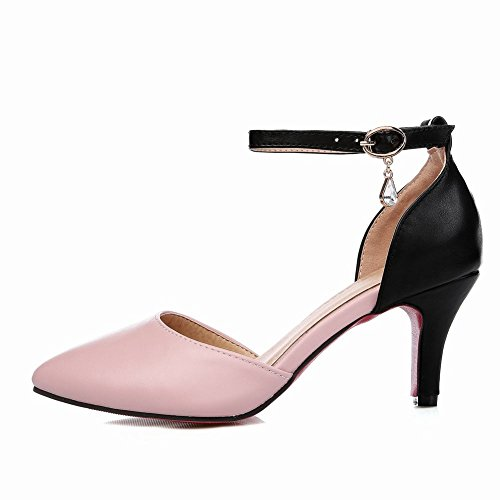 Dames Escarpins Chaussures Chaussures Doux Stiletto Multicolores Mode Mee Rose Mee vqwtgnO0t
