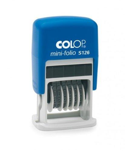 Colop S100.S126.1 Numeratore Data Autoinchiostrante 4 mm