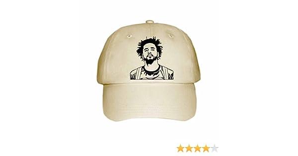 51c725ee3971 J. Cole Jcole dreamville Cap Hat (Unisex) (Khaki) at Amazon Men s Clothing  store
