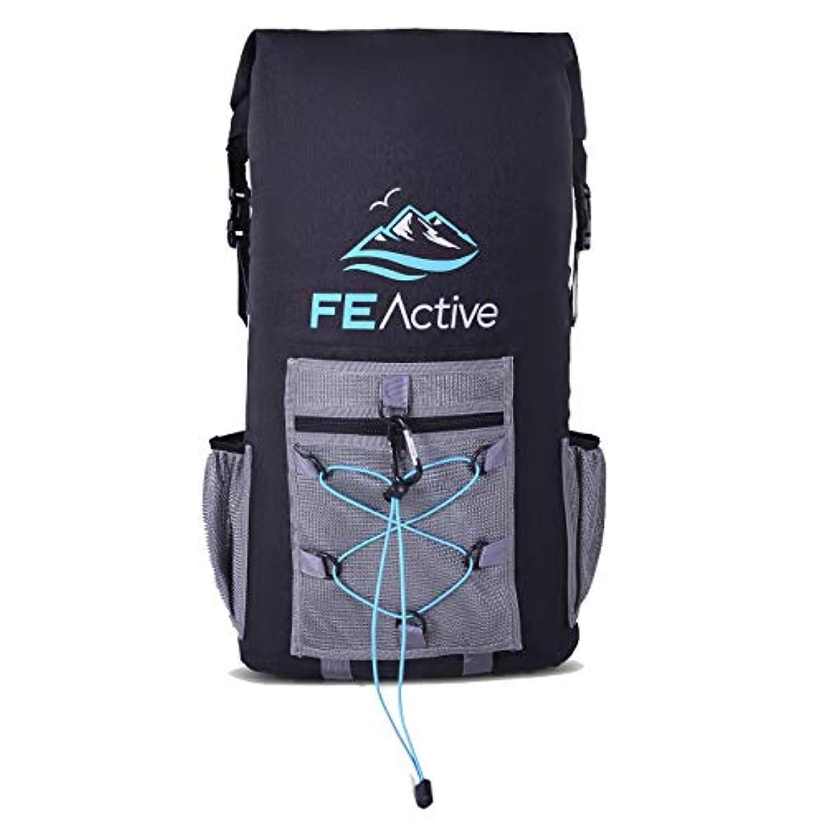 [해외] FE ACTIVE – 35L 내수성 쿨러 드라이어이 박스,사운드 호르몬 물질 사용 없음 FDA인증 EVA단열재,장시건의 냉각,캠핑비치하이킹트래킹화이트 팩킹에 최적 | 디자인:미국캘리포니아