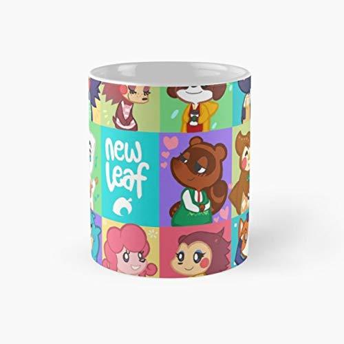 Animal Crossing: New Leaf Mug animal crossing Funny Mugs, 11 Ounce Ceramic Mug, Perfect Novelty Gift Mug, Tea Cups, Funny Coffee Mug 11oz, Tea -