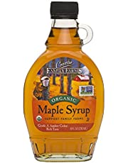 Coombs Family Farms Grade A Amber Rich Taste Organic Maple Syrup Glass, x, Amber Rich