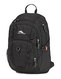 High Sierra 58416-1041 Ryler Backpack, Black, International Carry-On