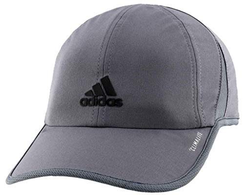 adidas Boys / Youth Superlite Relaxed Adjustable Performance Cap, Onix/Black, One Size