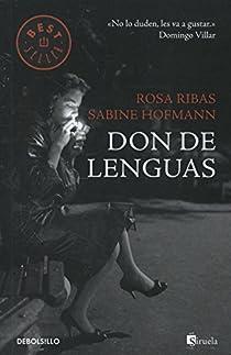 Don de lenguas par Ribas Moliné