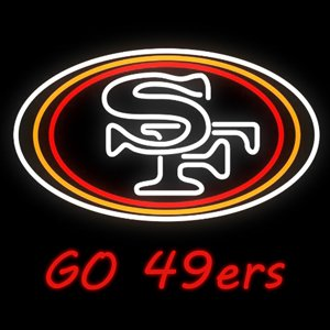 San Francisco 49ers Neon Lamp (Urby™ 19