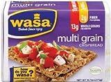 Wasa, Multi Grain Crispbread, 9.7oz Package (Pack of 4) by Wasa