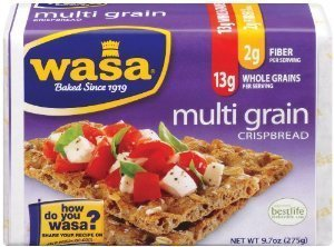 Wasa, Multi Grain Crispbread, 9.7oz Package (Pack of 4) by Wasa