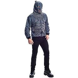 Rubie 's Disfraz de los hombres Godzilla sudadera con capucha para hombre, color Multi, talla X-large