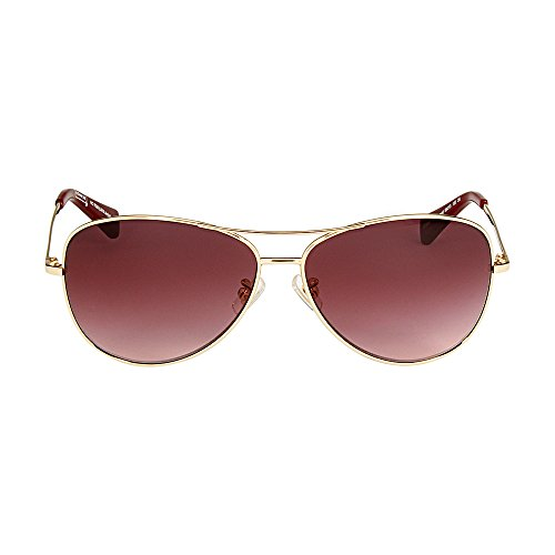 Coach Women's Designer Sunglasses, Gold/Garnet/Purple, - Sunglasses Coach Purple